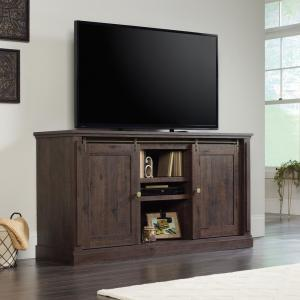 New Grange Coffee Oak 70 in. Entertainment Credenza
