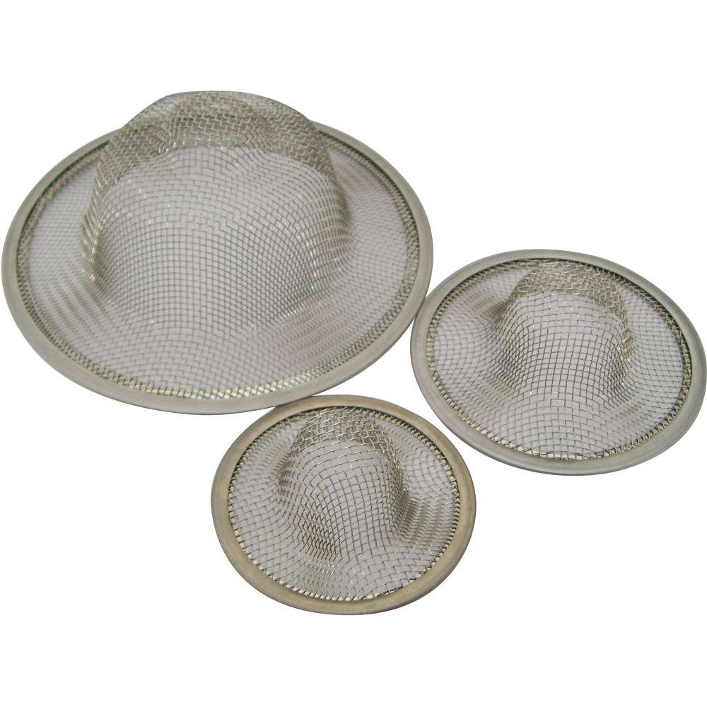 Screen - Drain Covers & Strainers - Drain Parts - The Home Depot