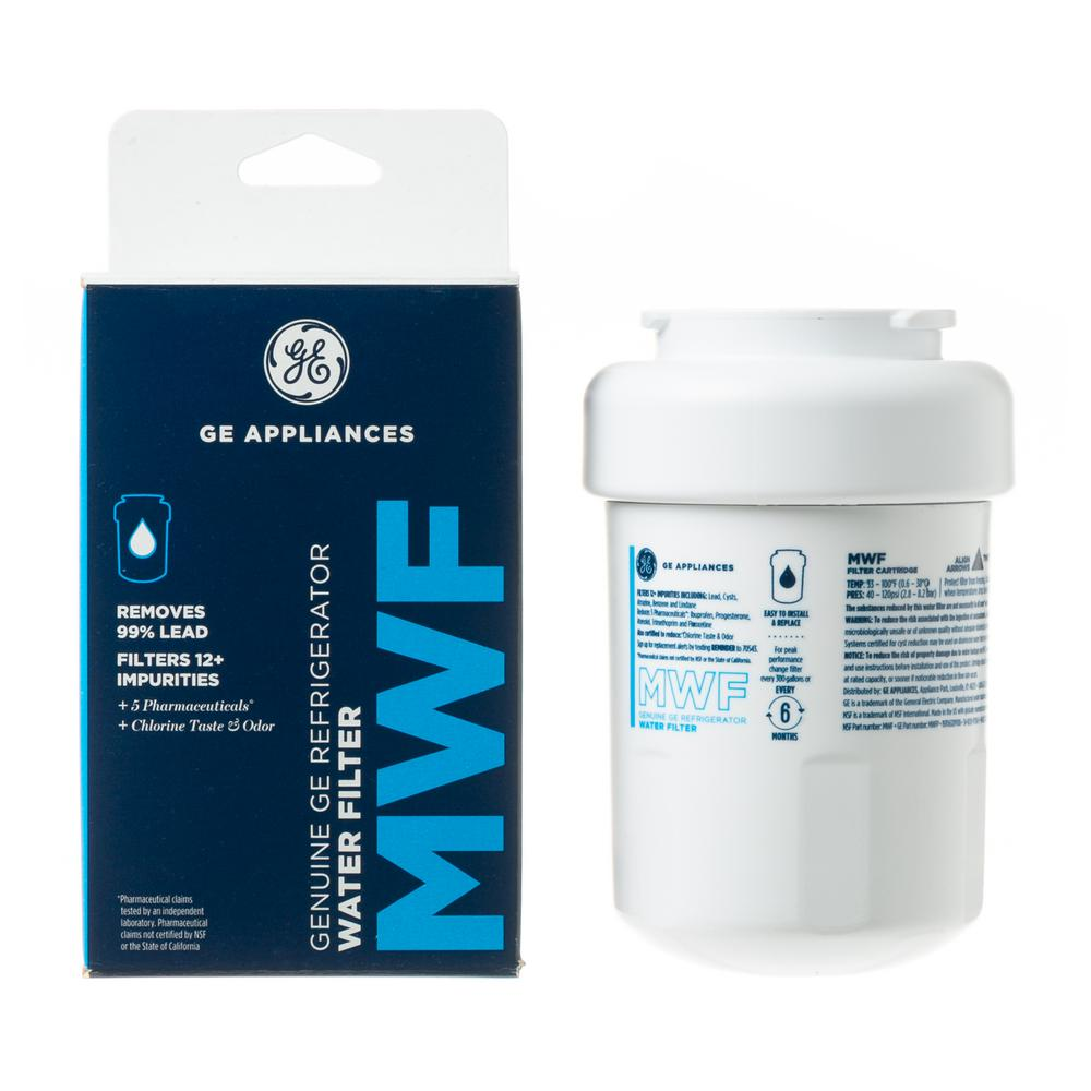 GE Genuine MWF Water Filter for GE Refrigerators