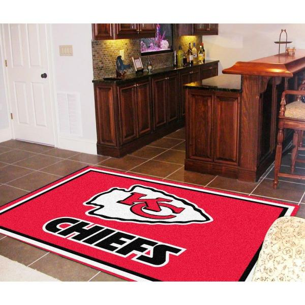 Fanmats Kansas City Chiefs 5 Ft X 8