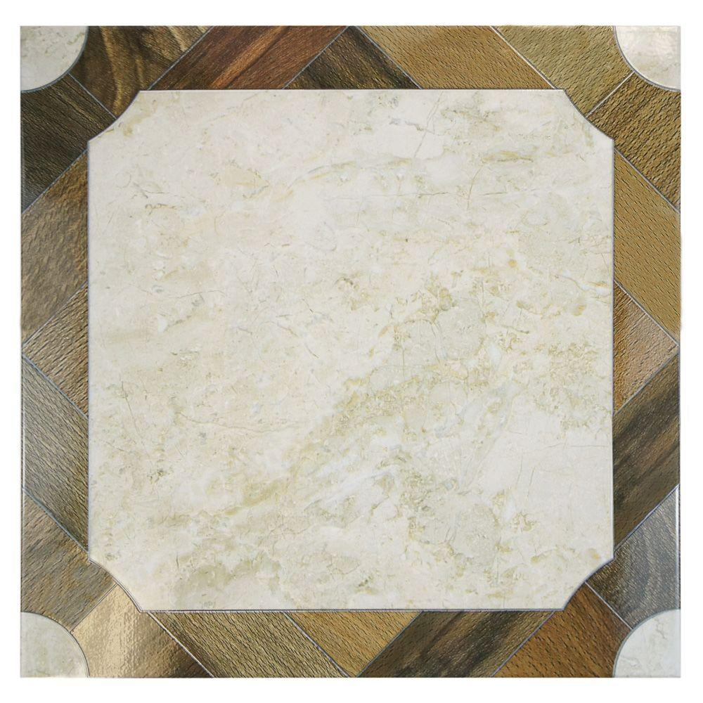 Merola Tile Jupiter 17-3/4 in. x 17-3/4 in. Ceramic Floor and Wall Tile (15.75 sq. ft. / case)