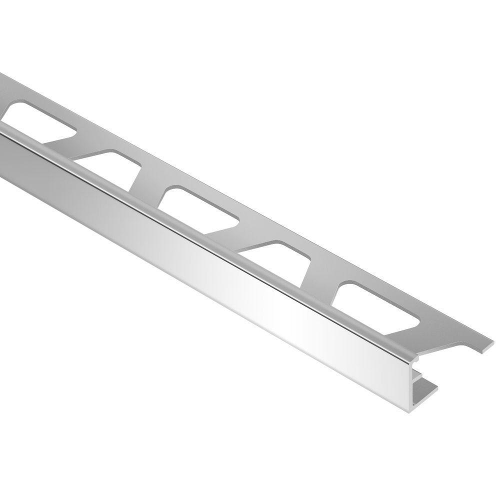 Schiene Aluminum 1/4 in. x 8 ft. 2-1/2 in. Metal L-Angle Tile Edging Trim