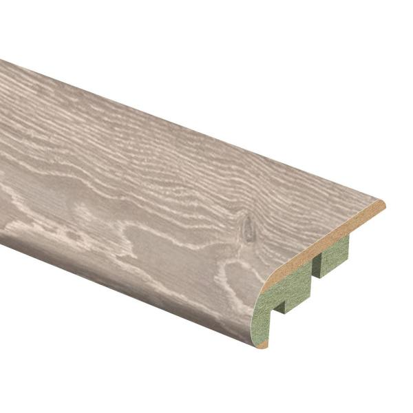 Montgomery Oak 3/4 in. Thick x 2-1/8 in. Wide x 94 in. Length Laminate Stair Nose Molding