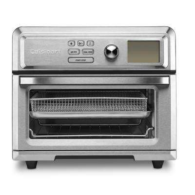 Stainless Steel Air Fryer Toaster Oven with Fry Basket