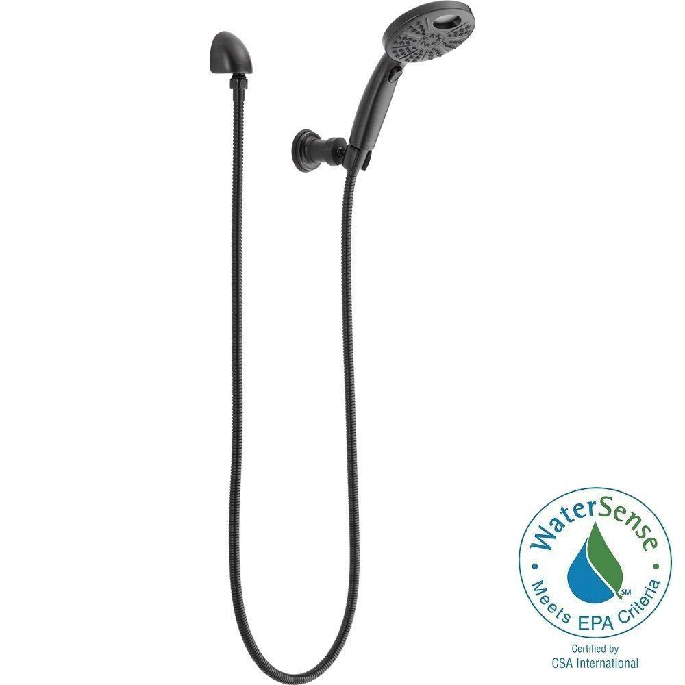 Delta Temp2O 6 Spray Hand Shower With Wall Mount In Venetian Bronze