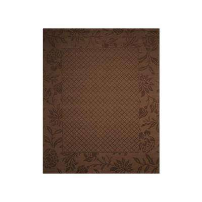 Barcelona Chocolate 8 ft. x 10 ft. Area Rug