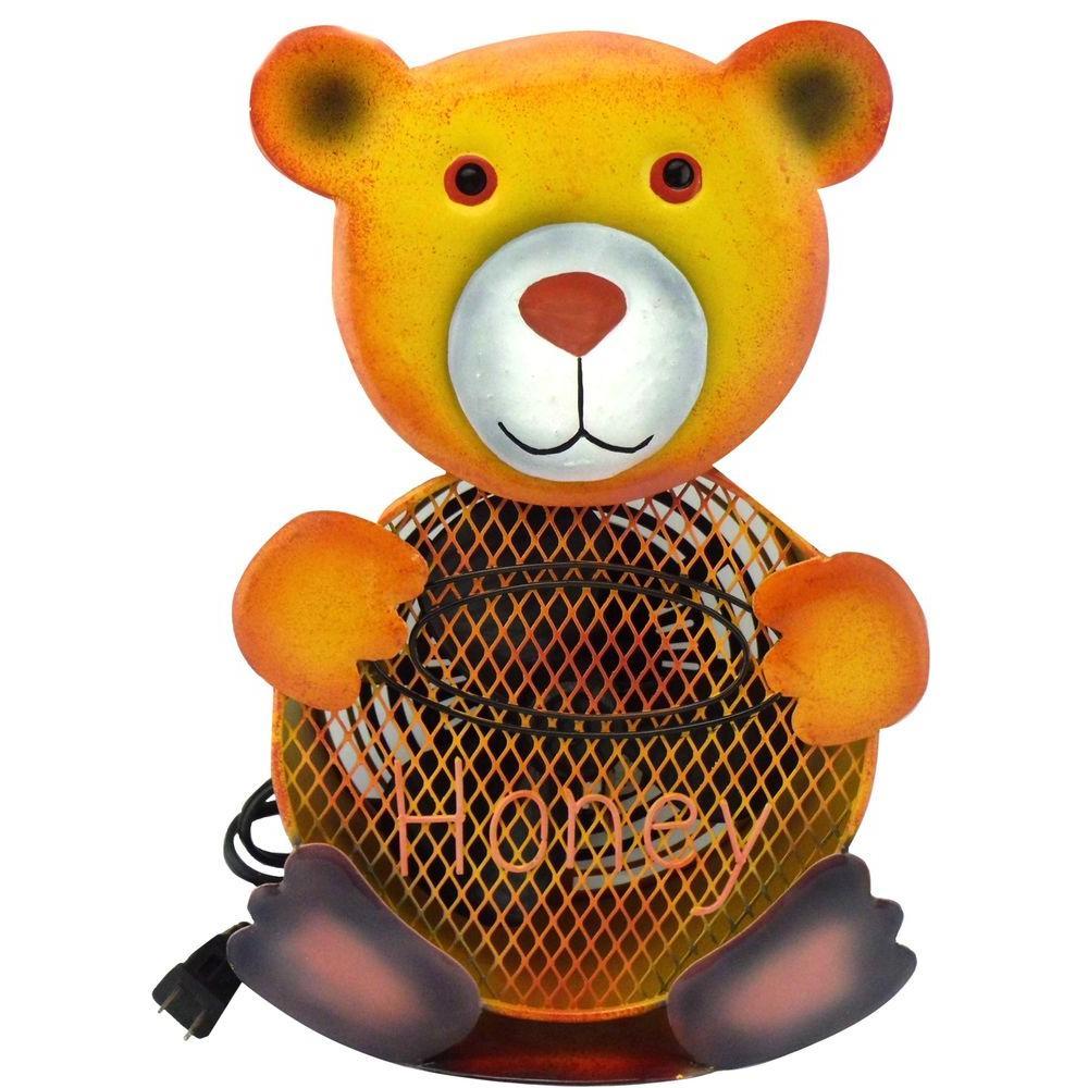 null 8.5 in. Himalayan Breeze Decorative Bear table Fan (Medium)