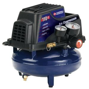 Campbell Hausfeld 1 Gal. Air Compressor with Basic Inflation Kit by Campbell Hausfeld