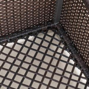 Tremendous Noble House Iliana Multibrown Wicker Outdoor Ottoman Table Machost Co Dining Chair Design Ideas Machostcouk