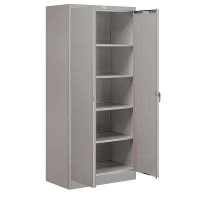 9000 Series 78 in. H x 36 in. W x 18 in. D Standard Storage Cabinet Unassembled in Gray