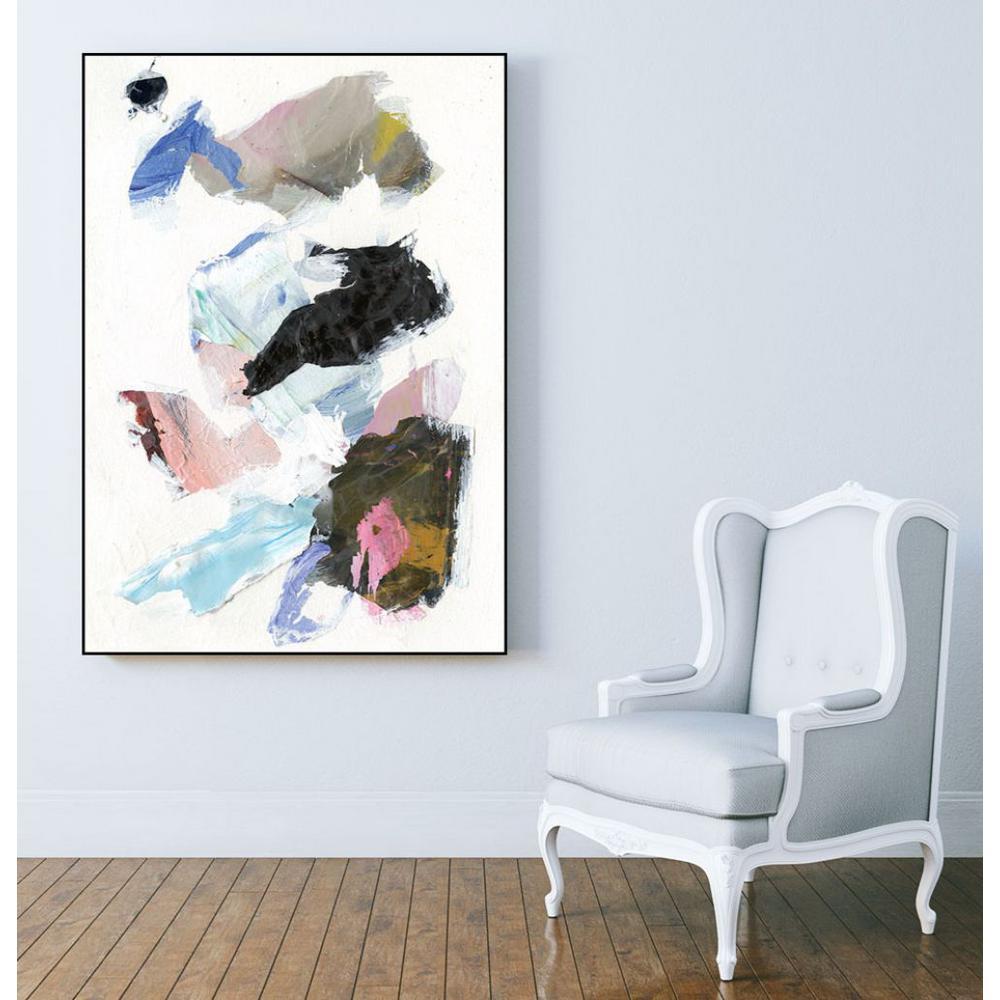 30 in. x 40 in. ''Sonata II'' by Jodi Fuchs Framed Wall Art