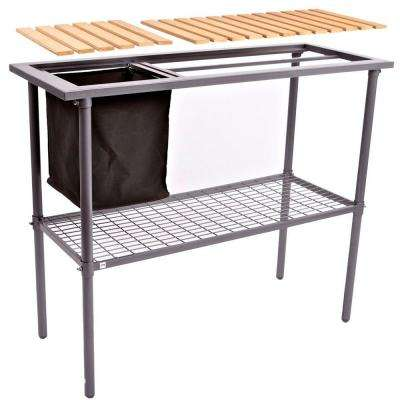 Garden and Greenhouse Composite Wood Top Potting Bench / Table