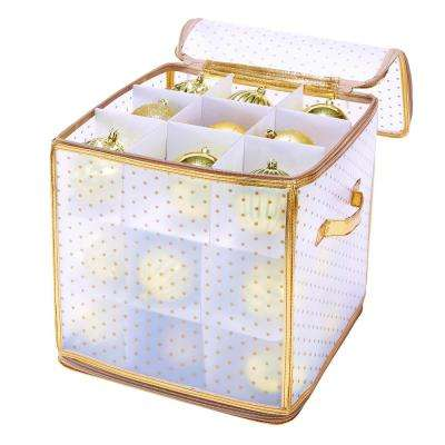 Gold Nylon Ornament Organizer (27-Count)