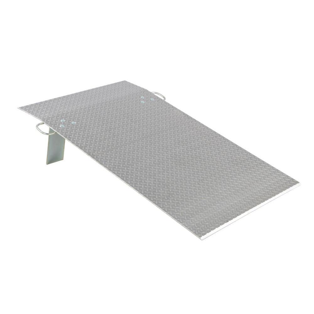 Vestil 3,000 lb. 36 in. x 60 in. x 0.38 in. Aluminum Economy Dockplate