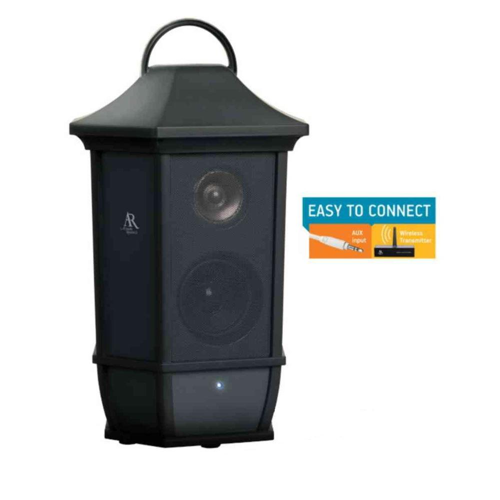 acoustic research main st style indoor outdoor wireless speaker aws63 the home depot