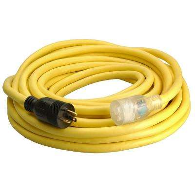 50 ft. 10-3 5-20P to 5-20R Lighted Generator Cord