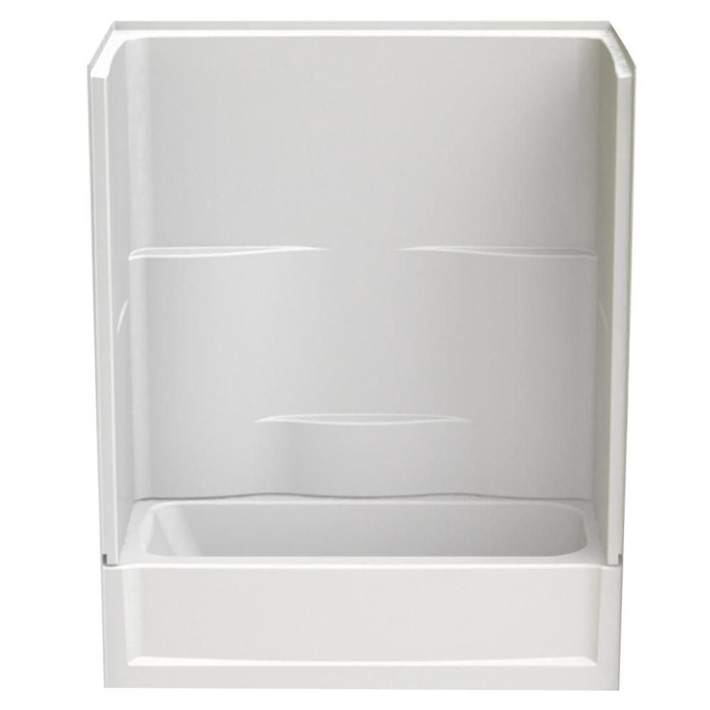 Remodeline 60 in. x 30 in. x 72 in. 2-Piece Bath