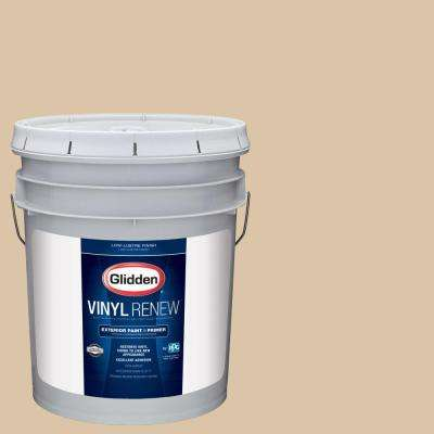 5 gal. #HDGO63 Whispering Wheat Low-Lustre Exterior Paint with Primer