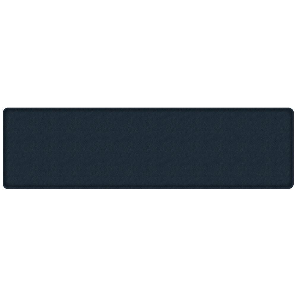 GelPro Classic Quill Atlantic Blue 20 in. x 72 in. Comfort Kitchen Mat