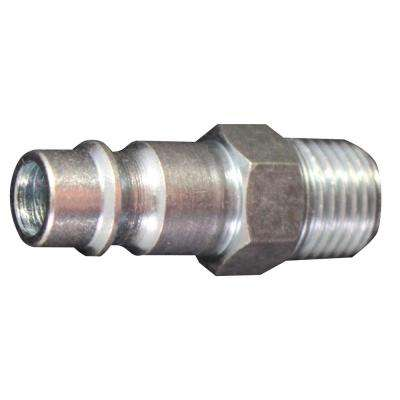 1/4 in. MNPT V Style High Flow Steel Plug