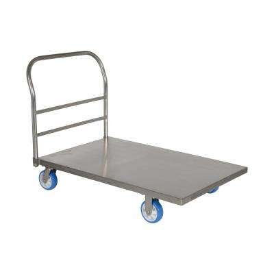 30 in. x 48 in. Stainless Steel Platform Truck