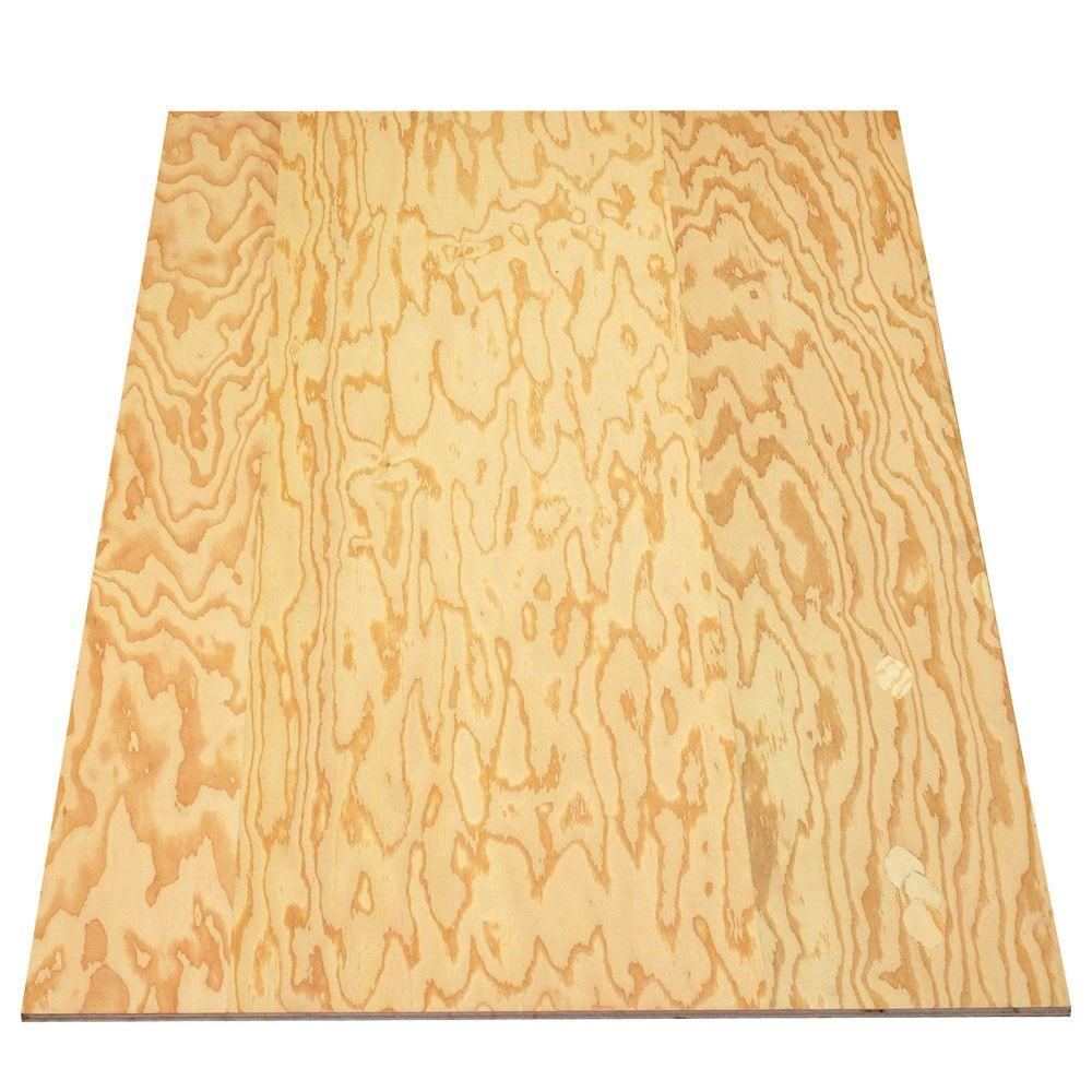 null Sanded Plywood (FSC Certified) (Common: 19/32 in. x 4 ft. x 8 ft.; Actual: 0.578 in. x 48 in. x 96 in.)