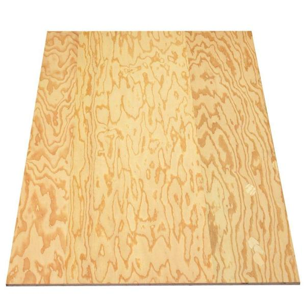 Sanded Plywood (FSC Certified) (Common: 19/32 in. x 4 ft. x 8 ft.; Actual: 0.578 in. x 48 in. x 96 in.)