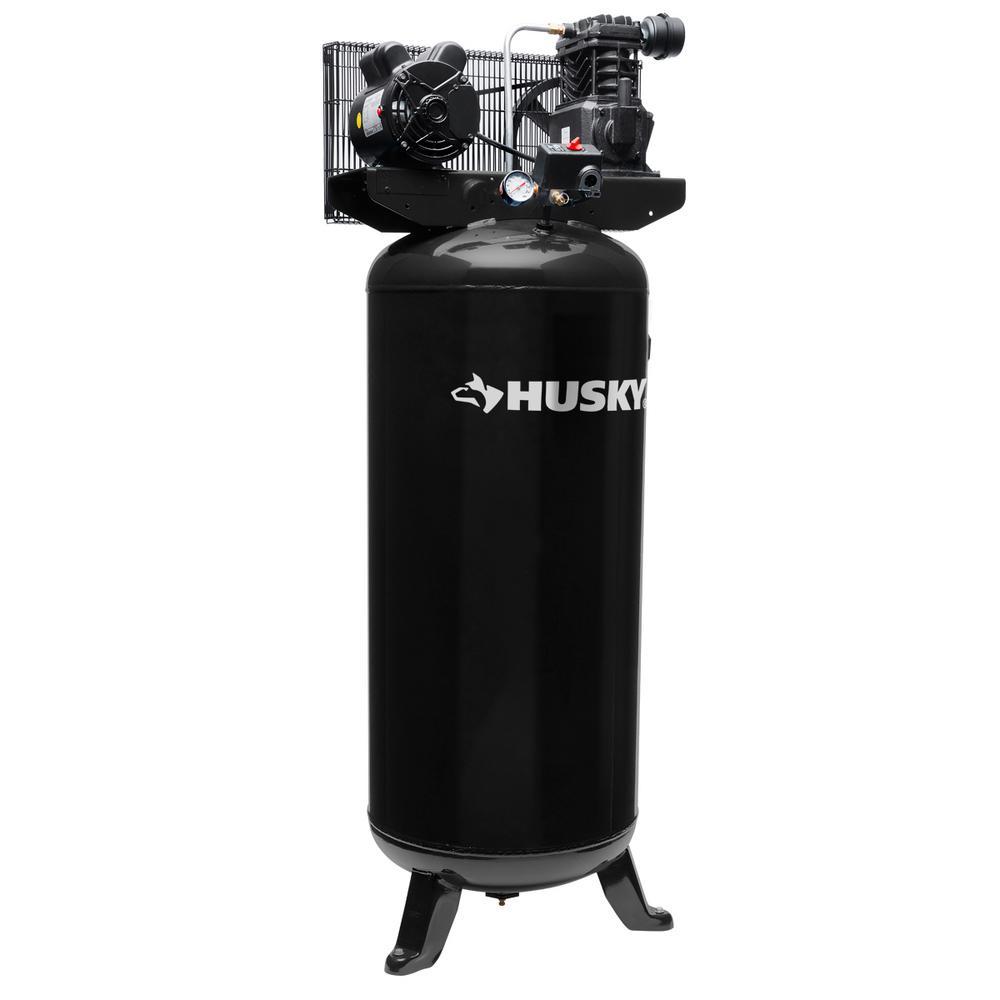 husky 60 gal electric air compressor vt6314 the home depot rh homedepot com husky air compressor manual vt631503aj Two-Stage Air Compressor