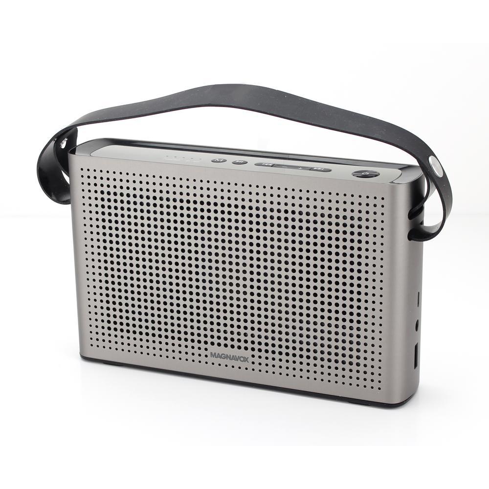 Retro Portable Bluetooth Speaker, Grey