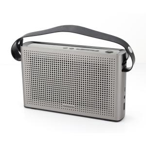 SoundLogic Bluetooth Shower Speaker with FM Radio and Carabiner in