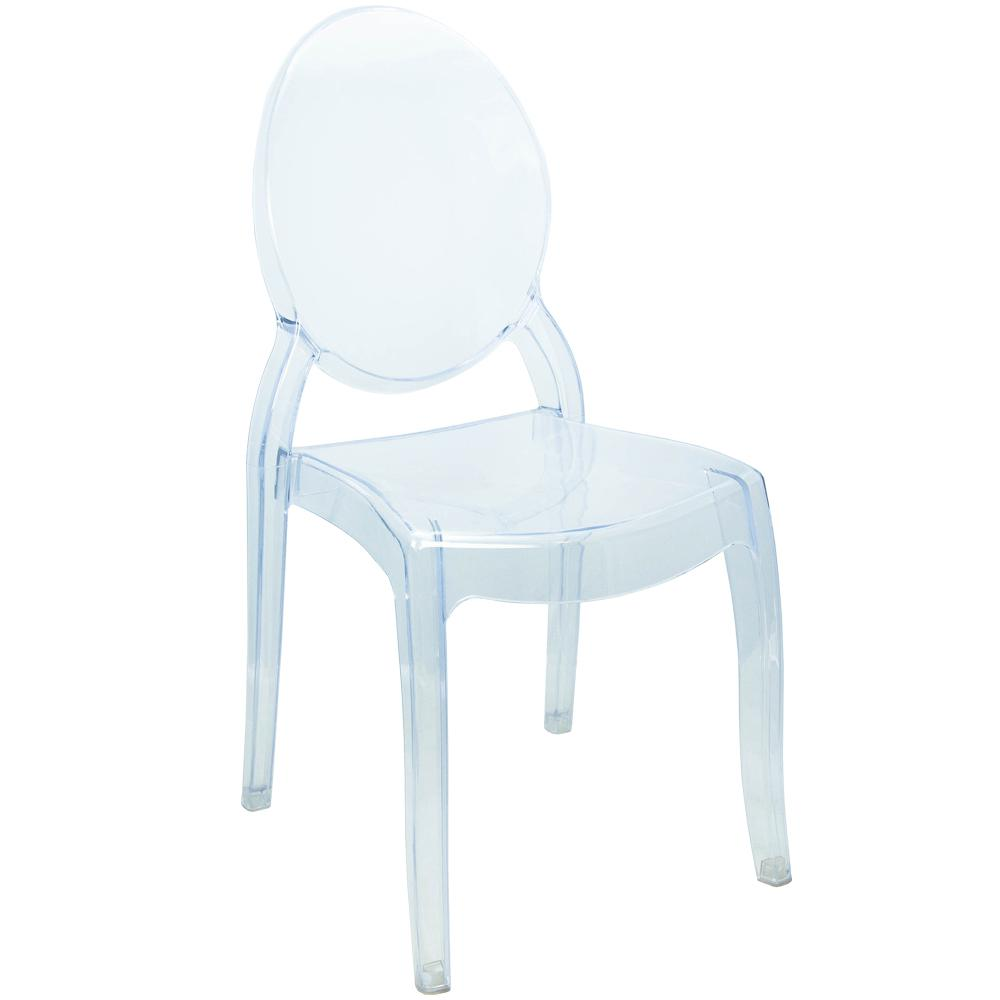 Superieur Advantage Ghost Oversized Clear Chair