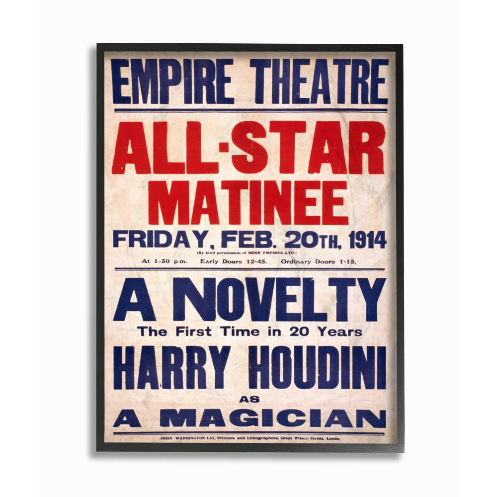 The Stupell Home Decor Collection 16 In X 20 Vintage Empire Theatre