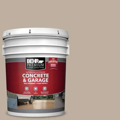 5 gal. #PFC-32 Spanish Parador Self-Priming 1-Part Epoxy Satin Interior/Exterior Concrete and Garage Floor Paint