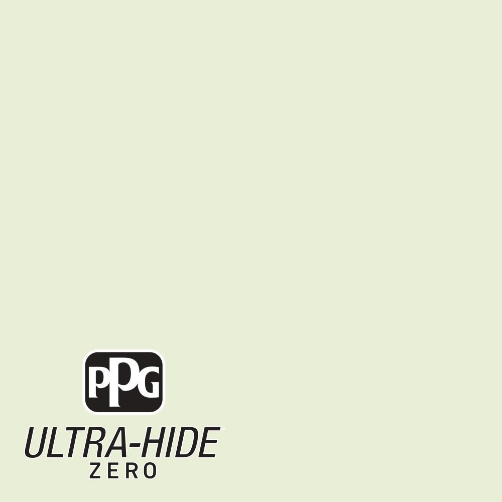 PPG 5 gal. #HDPG31 Ultra-Hide Zero Willow White Eggshell Interior Paint