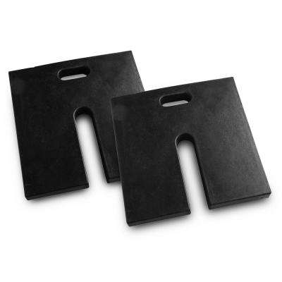 Canopy Rubber Weight Plates (2-Pack)
