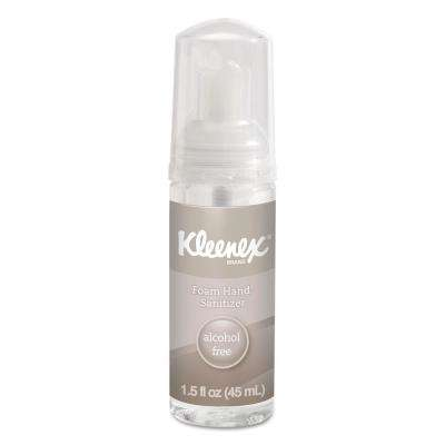 Kleenex 1.5 oz Alcohol-Free Foam Hand Sanitizer, 24 Per Carton