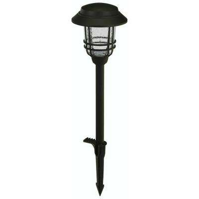 Low-Voltage LED Black Mission Outdoor Path Light
