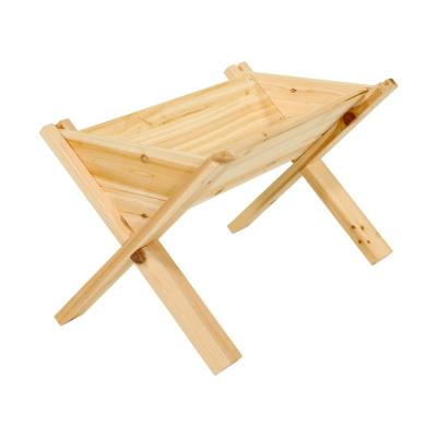 16 in. x 25 in. Cedar Wedge Garden Planter