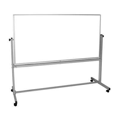 72 in. x 40 in. Double Sided Mobile Magnetic Whiteboard