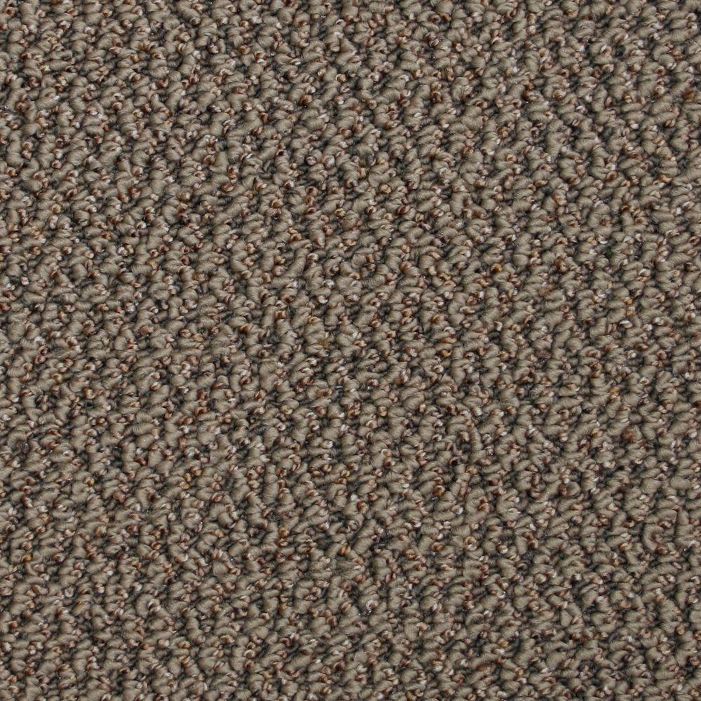 TrafficMASTER Critical Path - Color Pepper Berber 12 ft. Carpet