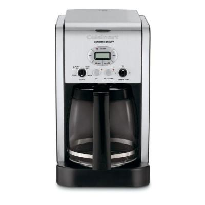 Extreme Brew 12-Cup Black Drip Coffee Maker with Programmable Settings