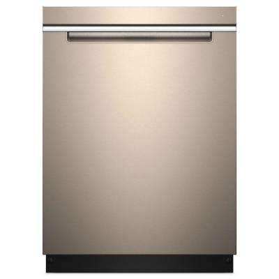 Top Control Built-In Tall Tub Dishwasher with Stainless Steel Tub and TotalCoverage Spray Arm in Sunset Bronze, 47 dBA