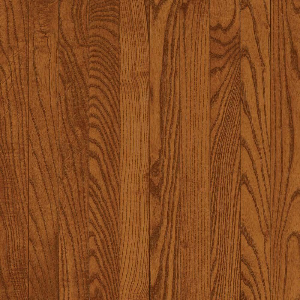 Take Home Sample - Oak Gunstock Hardwood Flooring - 5 in. x 7 in.