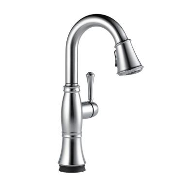 Cassidy Touch Single-Handle Bar Faucet in Lumicoat Arctic Stainless