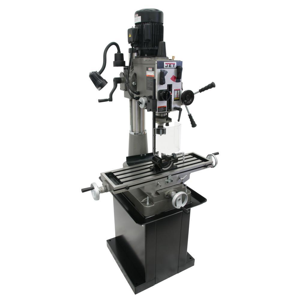 JMD-40GH 115-Volt/230-Volt Geared Head Mill/Drill Press
