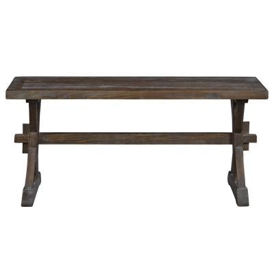 Maxwell Brown/Chargray Bench