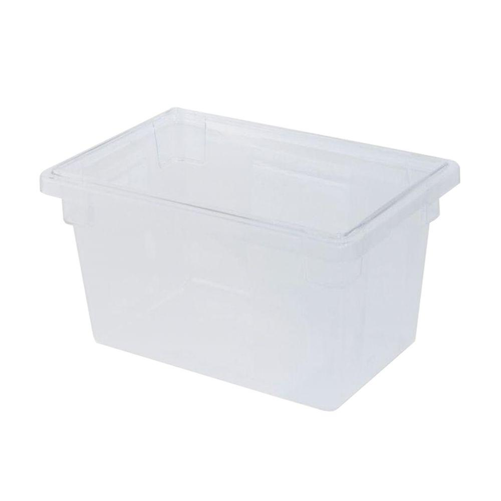Rubbermaid Commercial Products 21-1/2 Gal. Clear Food Storage Box  sc 1 st  The Home Depot & Rubbermaid Commercial Products 21-1/2 Gal. Clear Food Storage Box ...