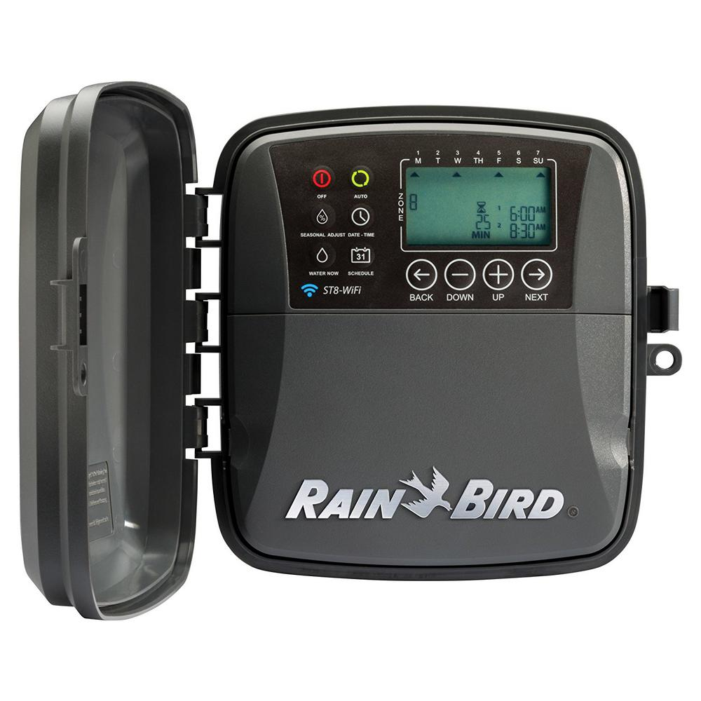 rain bird irrigation timers st8o wifi 64_1000 irrigation timers sprinkler timers the home depot Rain Bird 24VAC Wiring Diagrams at edmiracle.co