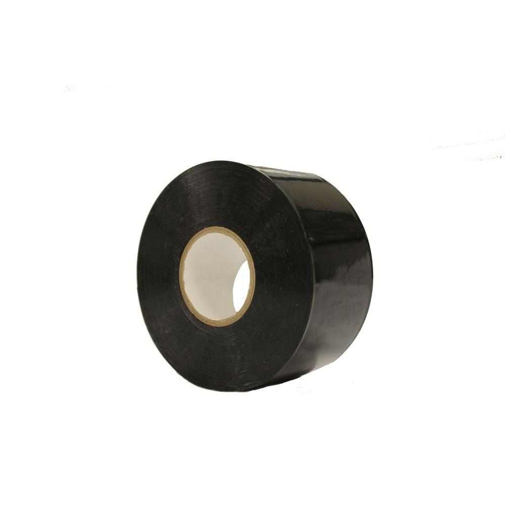 2 in. PVC Black Tile Tape