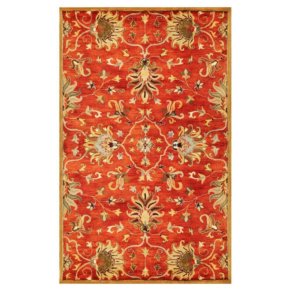 Kas Rugs Touch Of Agra Sienna 8 Ft. X 10 Ft. 6 In. Area